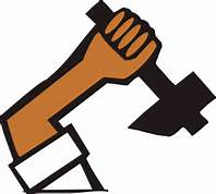 arm with hammer image