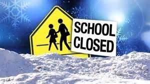 school closed - snow