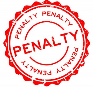 Penalty for using images from internet